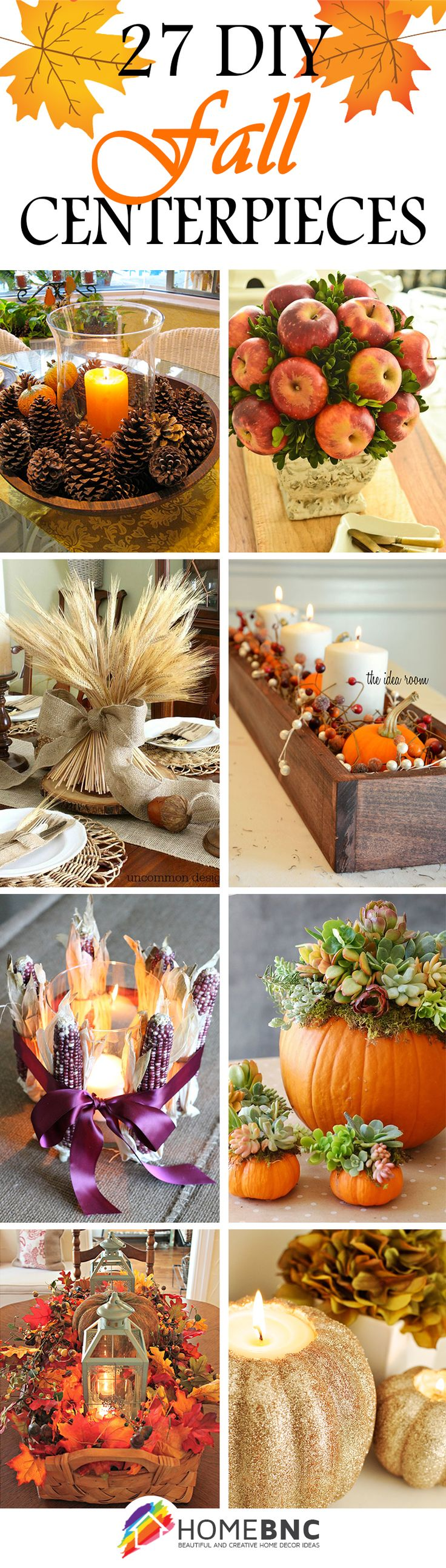 DIY Fall Centerpiece Decorations