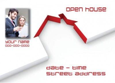 OpenHouse Realtor Postcard http://postcardspromo.com