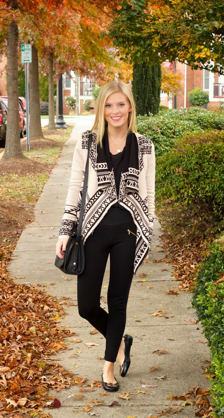 Life with Emily | a life + style blog : Aztec Sweater