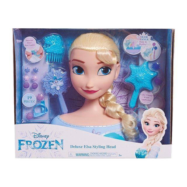 Busto Deluxe Elsa Frozen El Reino De Hielo Elsa Frozen Frozen Disney Elsa