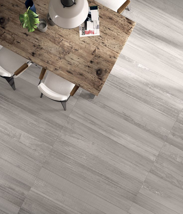 "Bali Light Grey | Porcelaine - Porcelain | Fini naturel - Natural Finish | 8""x67"" 