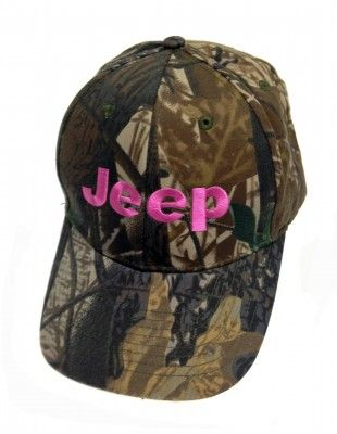 Jeep Pink Camo Hat