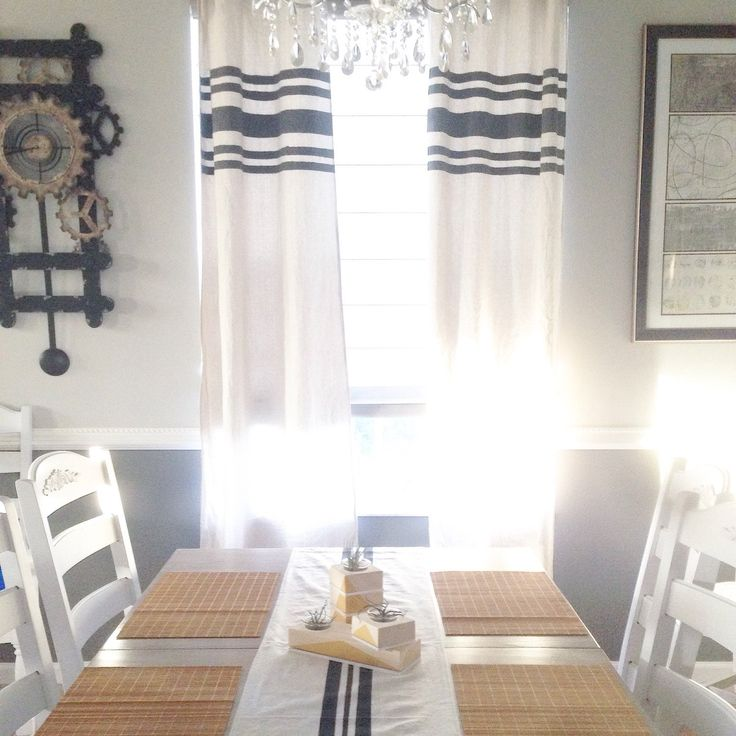 Best 25+ Striped curtains ideas on Pinterest | Country ...