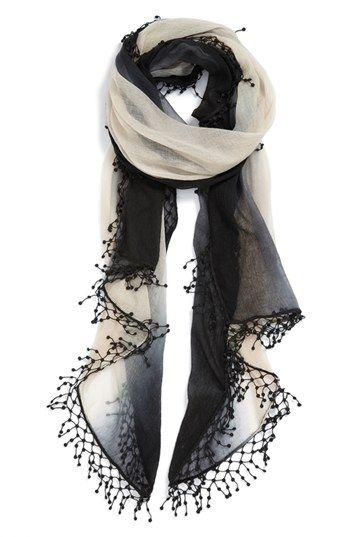 ombre scarf - so cute
