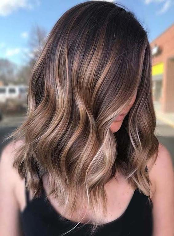 54 Dazzling Coffee Brown Hair Color Ideas in 2019 | Hair Color Ideas ...