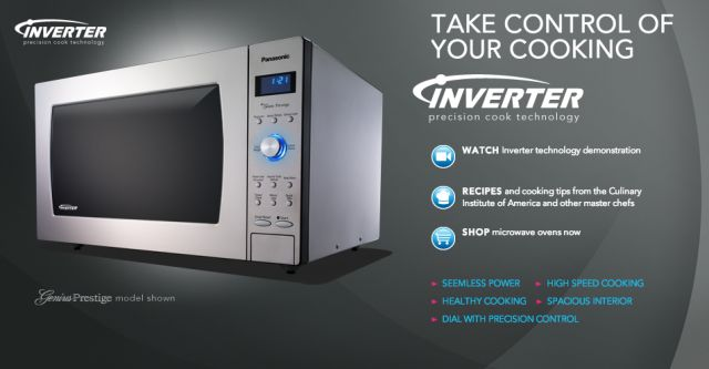 Giveaway: Panasonic Microwave ~ http://steamykitchen.com