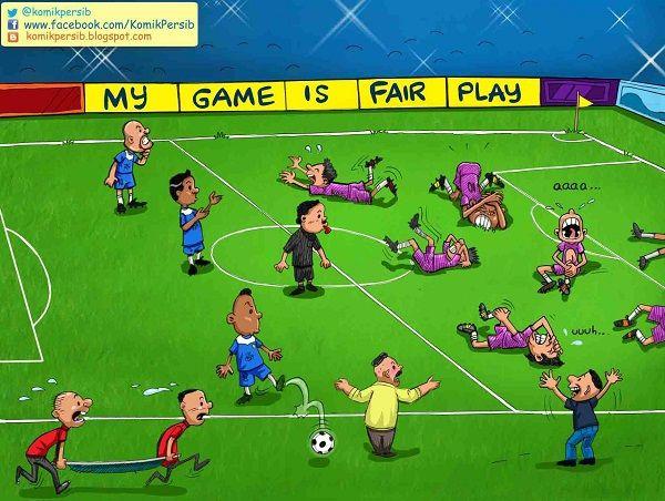Komik Persib: My Game is #FTV Play