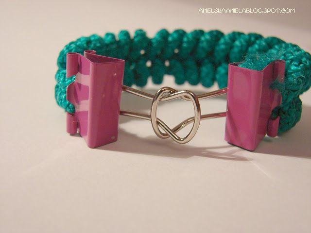 DIY..Tutorial...bracelet...fishtail...and clasp.....