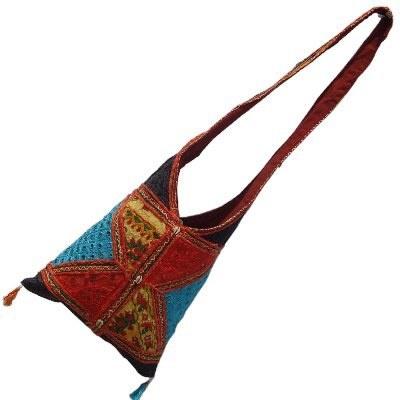 Multicolour Barmeri Embroidery Shoulder Bag-102 #Barmeri Embroidery Shoulder Bag-