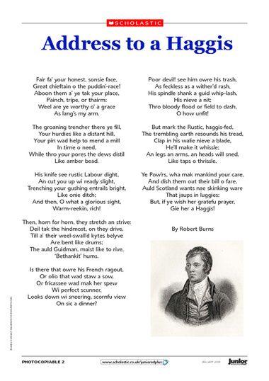 Address to a haggis