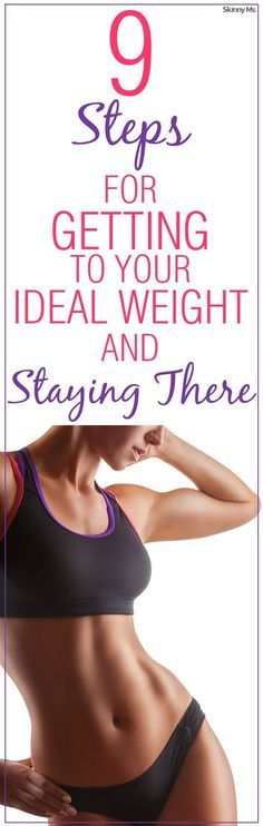 Lose the weight and keep it off! These are the Skinny Ms. 9-Steps for Getting to Your Ideal Weight and Staying There. find more relevant stuff: www.victoriajohnson.wordpress.com