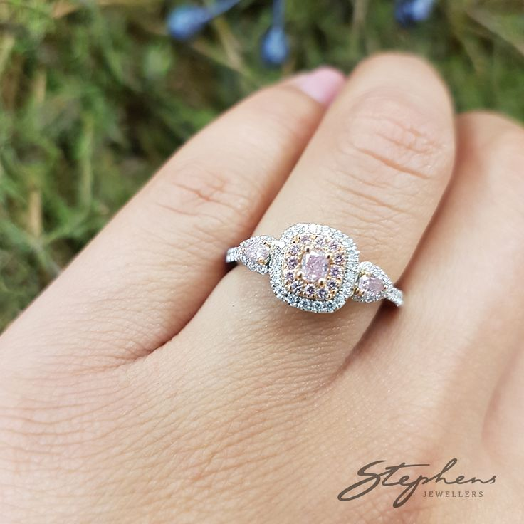 We Have It All- From white diamonds to pink diamonds. We have every kind of ring imaginable! Come in store to find your perfect match. #StephensJewellers #Diamonds