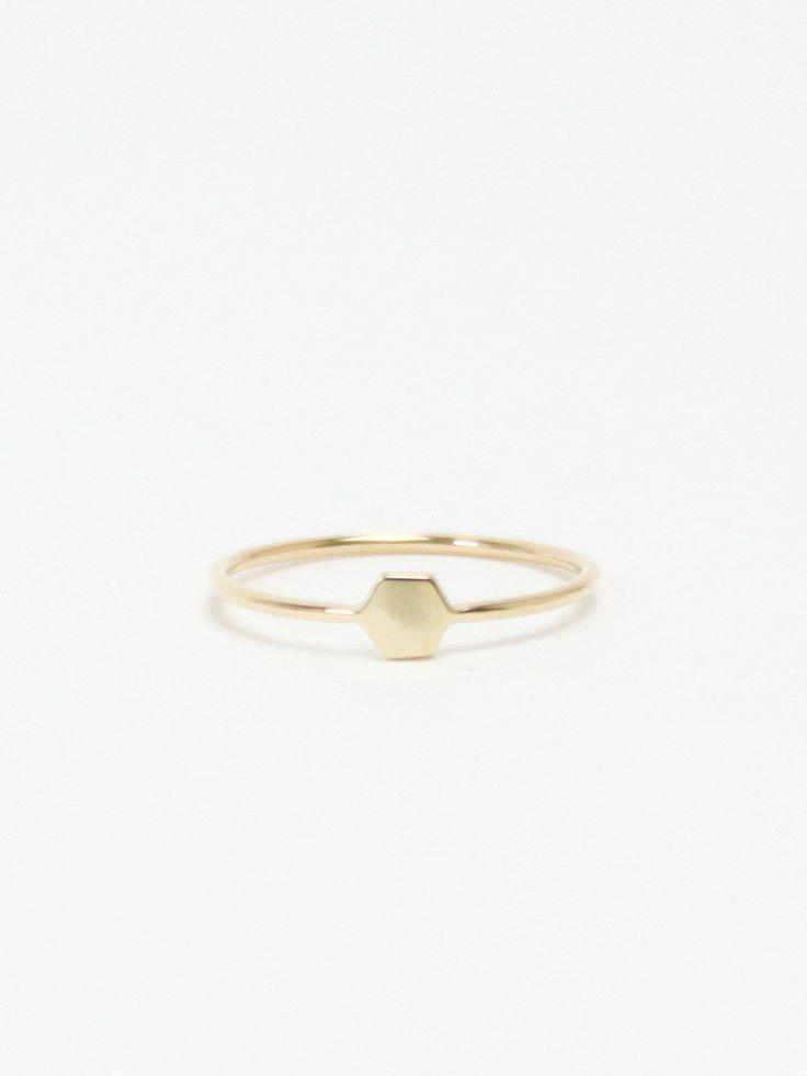 Mociun again, seriously loving their stuff. Gold hex ring. Perfect for catan. $230.00