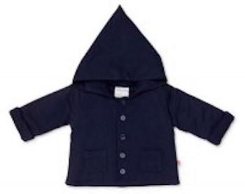 Marquise Hooded Baby Jacket - double thickness to keep baby snuggly..