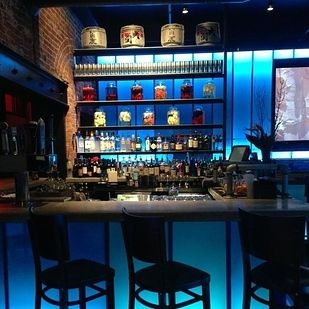 The bar area at Blue Sushi Sake Grill, downtown. (repinned)