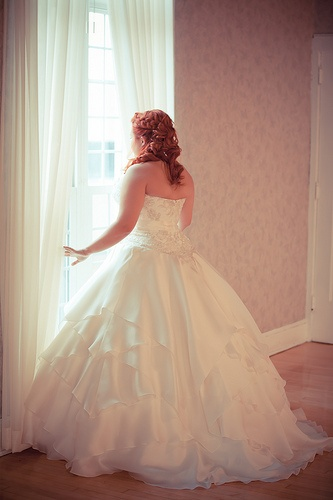 My dress. Photo by Crystal Proper Photography
