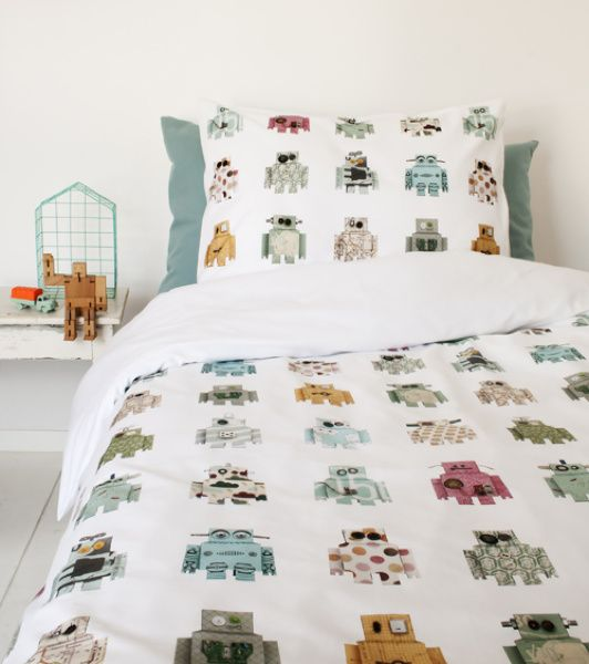 Robot duvet cover | Products | Studio ditte                                                                                                                                                                                 More