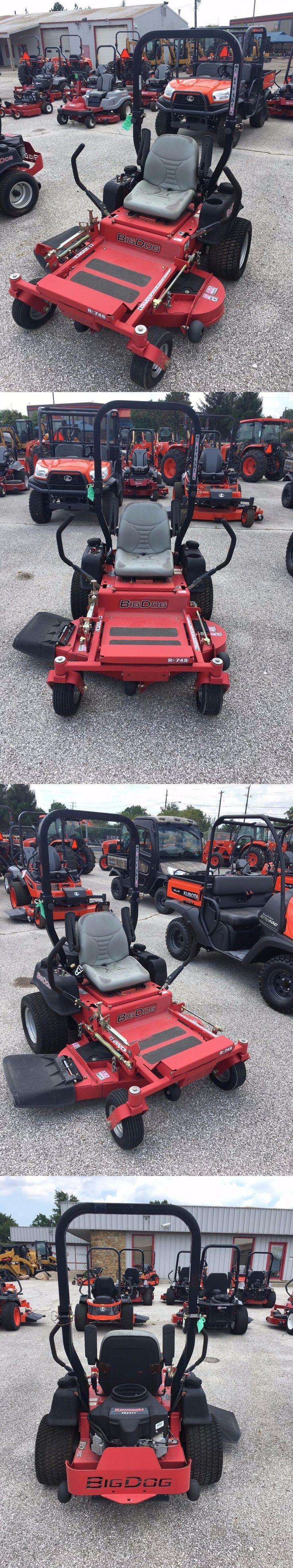 Riding Mowers 177021: Big Dog 48 Ride On Mower - Kawasaki Power - New 2011 Floor Model -081 -> BUY IT NOW ONLY: $3850 on eBay!