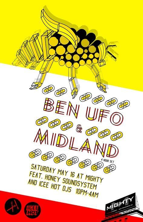 RA Tickets: Honey Soundsystem & Mighty present BEN UFO & Midland at Mighty, San Francisco