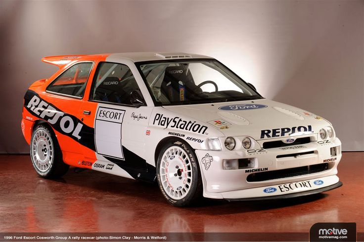 Image result for ford escort cosworth rally car