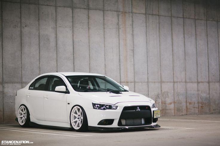 What EVO? // Fernando's Mitsubishi Ralliart. | Stance:Nation - Form > Function