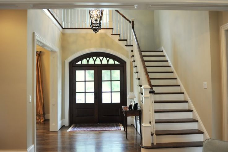 Front Foyer Staircase : Best images about staircase on pinterest hardwood