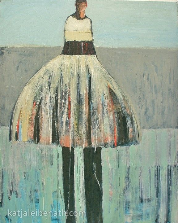 Katja Leibenath Paintings Dancer #10, 60x48