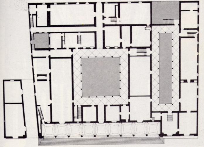32. Planta centralizada de hospital de los inocentes Florencia.  Analisis de...