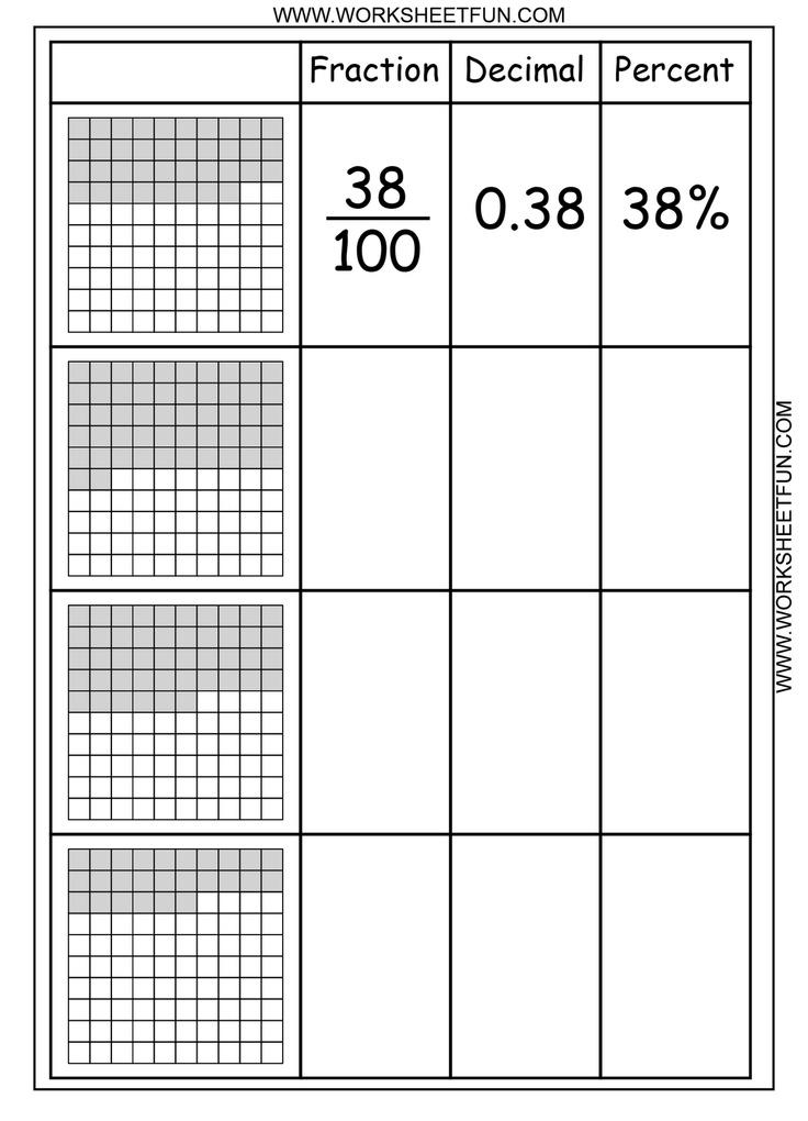 math worksheet : 1000 images about summer school on pinterest  decimal math  : Decimal Squares Worksheets