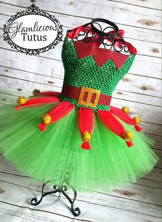 M s de 25 ideas nicas sobre disfraz duende en pinterest - Disfraz navideno nina ...