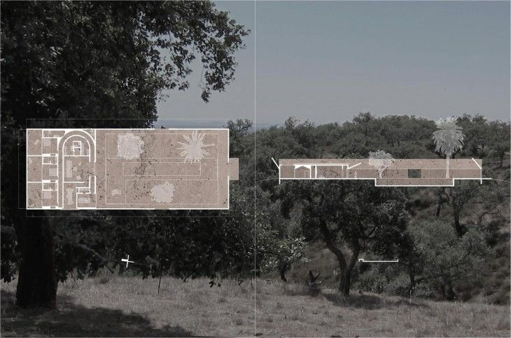 Villa Além. Valerio Olgiati