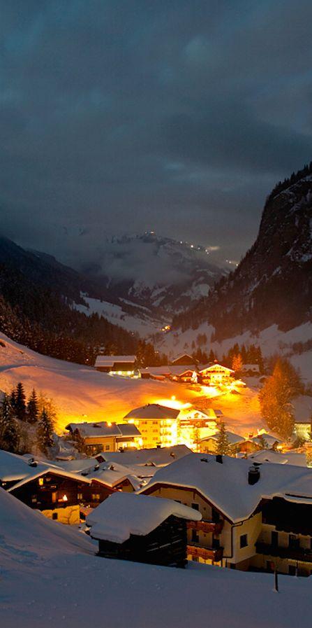 The village of Hüttschlag in Austria's Grossarltal Valley • photo: Jens Schwarz, laif/Redux on National Geographic