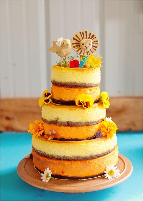 Attractive Wedding Cake