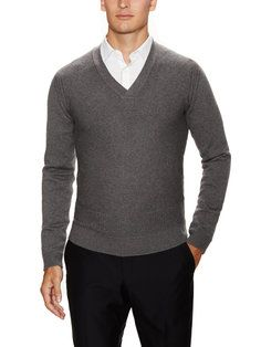Baiga'99 Wool V-Neck Sweater