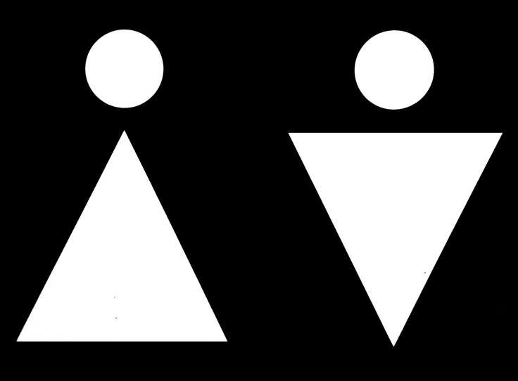 Bathroom Signs Circle And Triangle 224 best sinaletica wcs images on pinterest | toilet signs
