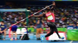 Image copyright                  Getty Images Image caption                                      Yego es campeón mundial de lanzamiento de jabalina.                                El atleta keniano Yulius Yego ganó el sábado la medalla de plata en las Olimpiadas de Río de Janeiro 2016 en la prueba de lanzamiento de jabalina, disciplina en la que ya se había coronado como campeón en el Mundial de Atletismo Pekín 2015, donde logró la me