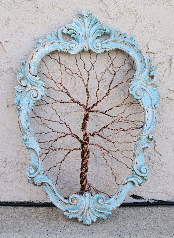 Original objeto de arte único árbol grande por AmyGiacomelli