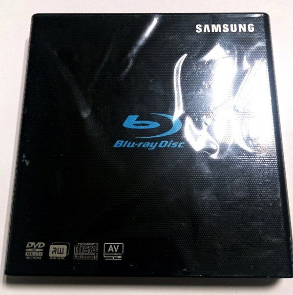 Quemador Samsung Bluray Slim Portable