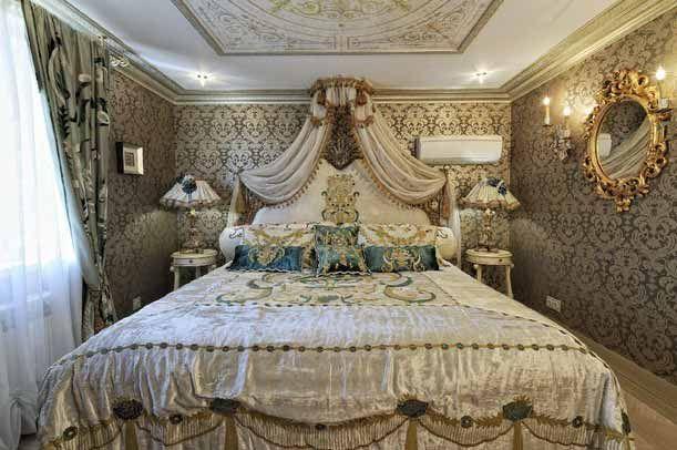 Спальня в стиле барокко фото