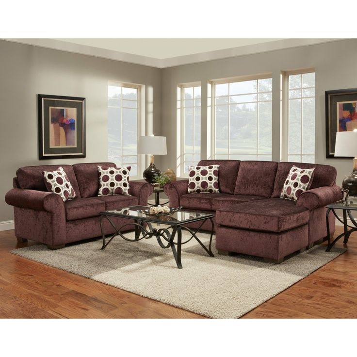 affordable furniture sensations red brick sofa. furnituremaxx prism elderberry fabric sectional sofa w 2 pillows made in usa sofas affordable furniture sensations red brick