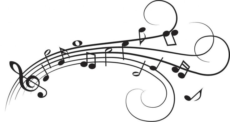 Music Note Vinyl Wall Decal