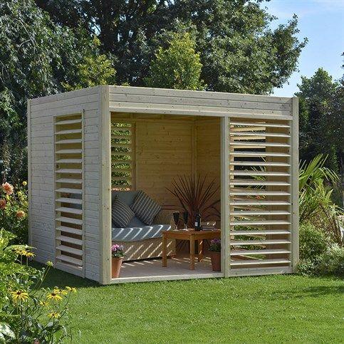 Abri de jardin design arty 6.55 m2