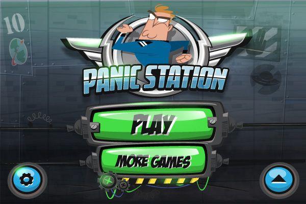 Panic Station - GUI Design by Gabriel Mourelle, via Behance