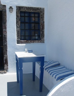 Greek Style- blue and white and always bright