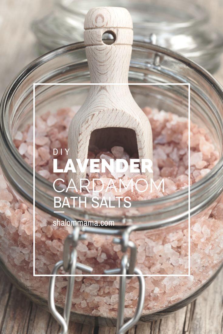 Lavender cardamom bath salts                                                                                                                                                                                 More