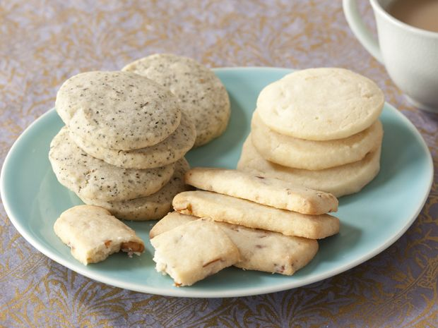 Classic Shortbread Cookies in 4 Ingredients with added 1 ingredient Variations Recipe : Claire Robinson : Food Network