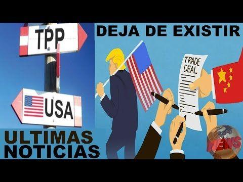 Ultimas noticias de EEUU, TRAS LA SALIDA DE EEUU, EL TPP DEJA DE EXISTIR, HOY 16/03/2017 - YouTube