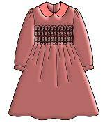 Выкройки детских платьев: Платье для девочки с бантом на спинке - Бесплатные выкройки для шитья одежды