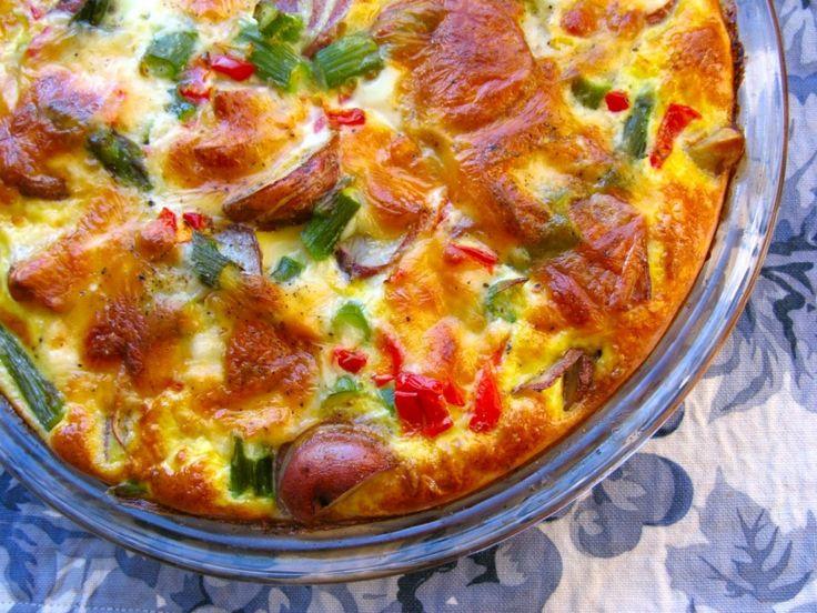 Рецепты: Завтрак по-испански: Овощная тортилья