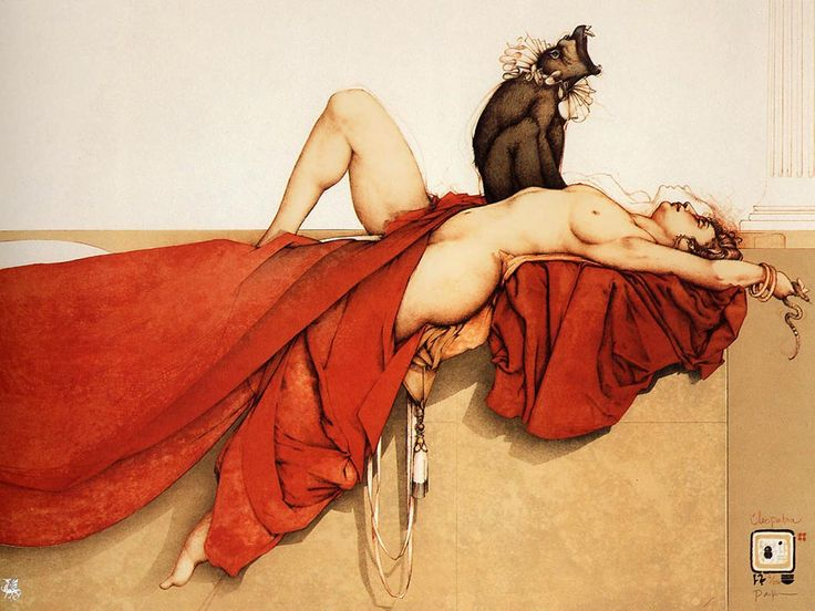 Michael Parkes Cleopatra